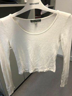 American Eagle Outfitters Kraagloze sweater licht beige-wolwit Gemengd weefsel