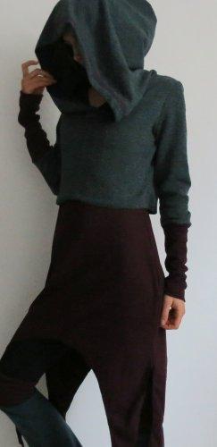Jersey con capucha multicolor tejido mezclado