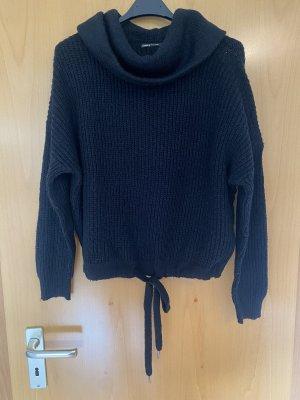 Kurzer Pullover mit anpassbarem Bund