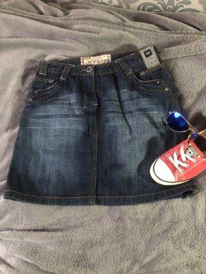 Cecil Jupe en jeans bleu-bleu foncé jean