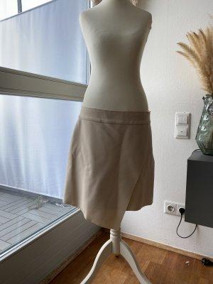 Asymetryczna spódniczka beżowy