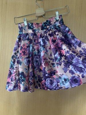 H&M Tulip Skirt multicolored