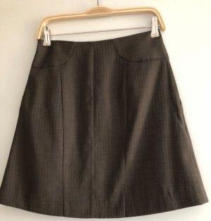 Vero Moda Plaid Skirt taupe