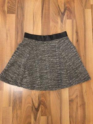 H&M Divided Circle Skirt black-white