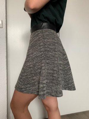 H&M Divided Circle Skirt black-white