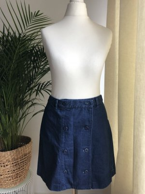 CC Double O Denim Skirt blue-dark blue