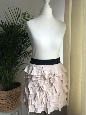 Zara Broomstick Skirt multicolored