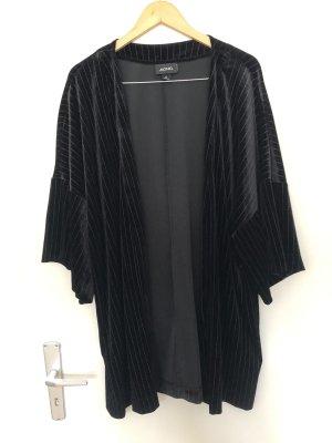 Monki Giacca a blusa bianco-nero