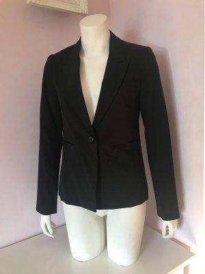 Gina Tricot Korte blazer zwart Polyester