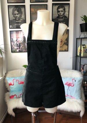 Kurzer schwarzer Jumpsuit H&M S/M