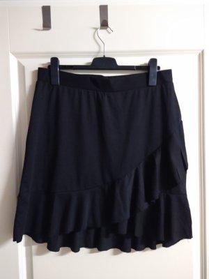 Janina Volanten rok zwart Polyester