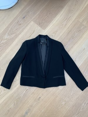 MANGO SUIT COLLECTION Tuxedo Blazer black