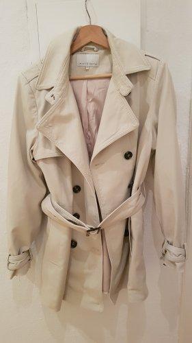 Manteau mi-saison beige clair
