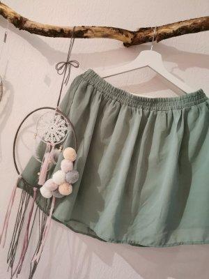 Vero Moda Falda de tul verde grisáceo