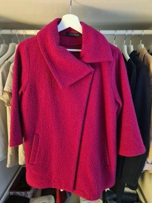 C&A Manteau en laine violet laine