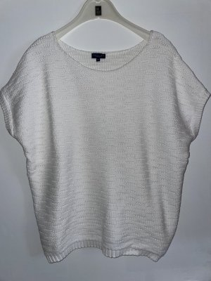 Darling Harbour Pullover all'uncinetto bianco