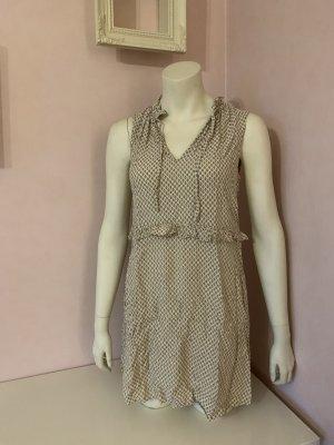 Kurzes ärmelloses Kleid mit V-Ausschnitt von H&M