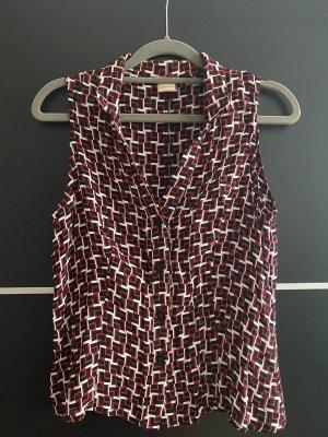 Short Sleeve Shirt multicolored viscose