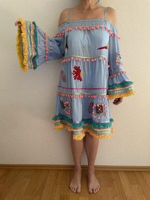 Kurzes Aufwendiges Ibiza Boho Sommerkleid