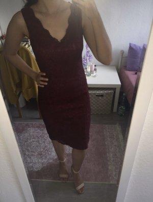 Lace Dress bordeaux