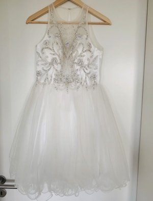 Laona Wedding Dress white-silver-colored