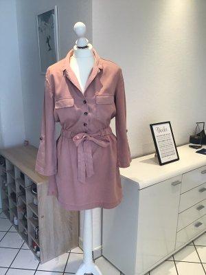 Zara Sukienka militarna różowy