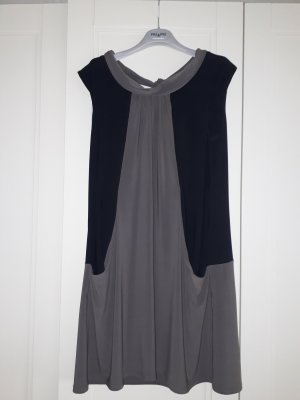 Joseph Ribkoff A Line Dress black-grey brown