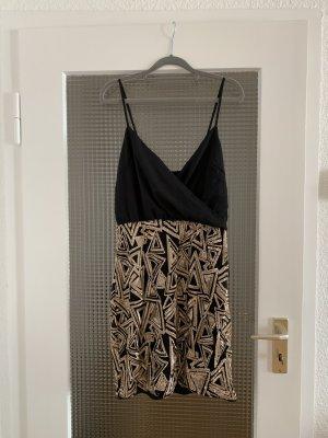 Tkmaxx Evening Dress black brown-sand brown