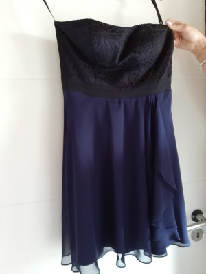 Peek & Cloppenburg Off-The-Shoulder Dress dark blue