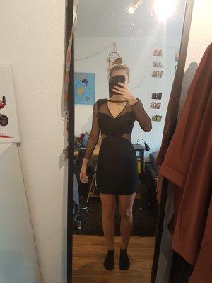 kurzes enges schwarzes kleid