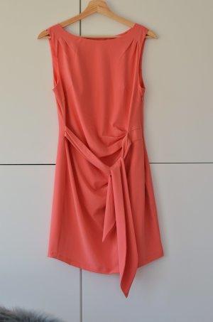 Kurzes festliches Kleid in korall von Supertrash