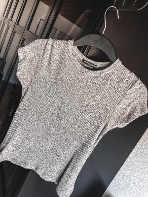 Kurzes geripptes T-Shirt, Brandy Melville