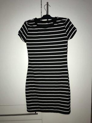 Shirt Dress black-white