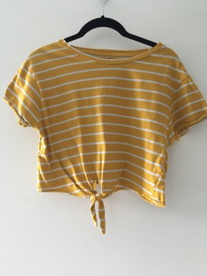 SheIn T-Shirt white-light orange