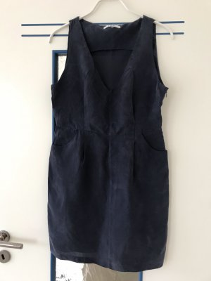 Liu jo Sukienka mini ciemnoniebieski Cupro