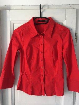 InWear Camicia a maniche corte rosso mattone