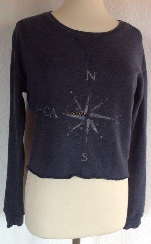 Kurzes Hollister Sweatshirt Gr. XS