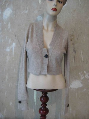 Best Connections Knitted Bolero light brown new wool