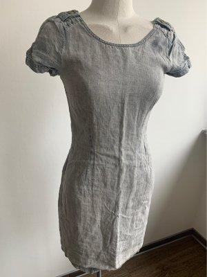 Set Jeansowa sukienka błękitny