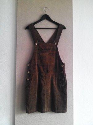 kurzes Jumperkleid aus Baumwolle in Kordoptik, Grösse M, neu