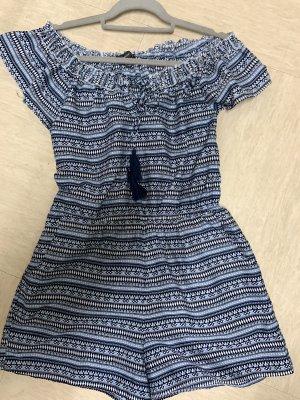 Spódnico-spodenki stalowy niebieski-ciemnoniebieski