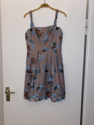 BSB Collection Mini Dress brown violet-light brown