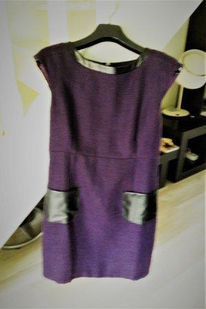 Best Connections Mini Dress dark violet polyester