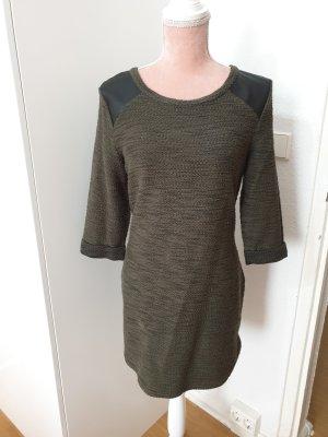 kurzes Kleid in Khaki
