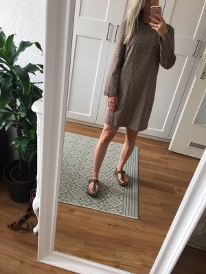 Kurzes Kleid Kariert / Hahnentritt