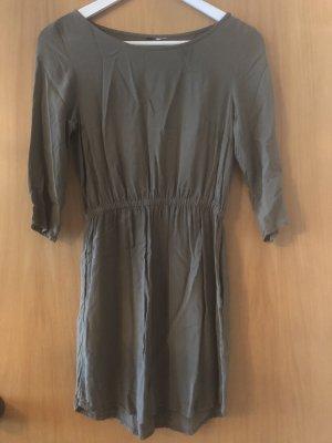 Kurzes Kleid khaki