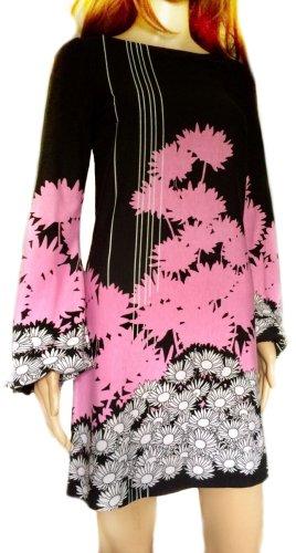 Kurzes Kleid mit Blumenprint