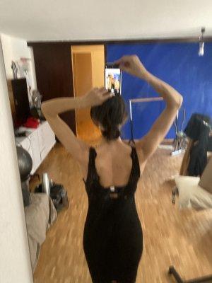 kurzes Kleid schwarze Spitze H & M.