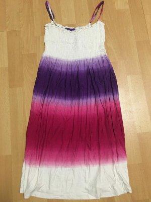 AJC Letnia sukienka Wielokolorowy Tkanina z mieszanych włókien