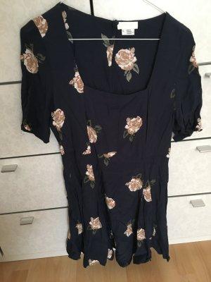 Urban Outfitters Mini Dress dark blue-cream